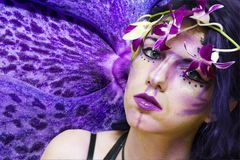 Ultra violet fairy