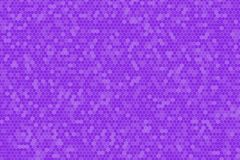 Ultra violet gradient color tone of Honeycomb Grid tile random background or Hexagonal cell texture. For backdrop or background royalty free illustration
