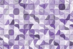 Ultra violet polygonal abstract background. Low poly crystal pattern. Design with triangle shapes. Light Ultra violet polygonal abstract background Low poly royalty free illustration