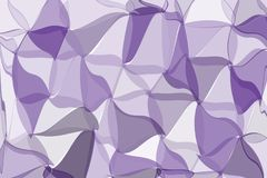 Ultra violet polygonal abstract background. Low poly crystal pattern. Design with triangle shapes. Royalty Free Stock Photo