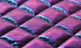 Ultra violet puffy rectangles Royalty Free Stock Photos