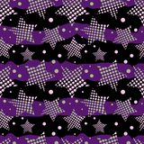 Ultra Violet Stars Background Stockfoto