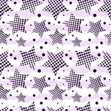 Ultra Violet Stars Background Foto de Stock Royalty Free