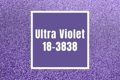 Ultra Volet błyskotliwości tło Obraz Stock