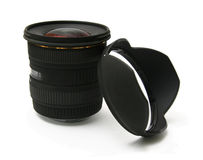 Ultra wide angle lens Stock Photos