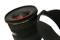 Ultra wide angle lens (detail) Stock Photography