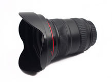 Ultra wide angle lens for SLR camera Royalty Free Stock Photo