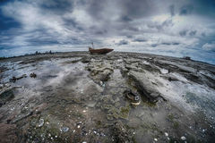 Ultra wide angle seascapes Thailand Royalty Free Stock Photos