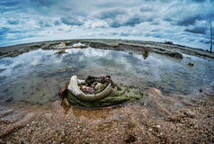 Ultra wide angle seascapes Thailand Stock Images