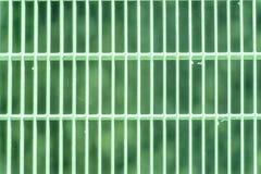 Ultra zielonej stali zmielona kratownica Stali nierdzewnej tekstura, tło dla strony internetowej lub urządzenia przenośne, Fotografia Stock