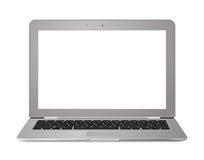 Ultrabook Laptop Screen Royalty Free Stock Image