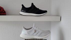Ultraboost di Adidas Fotografie Stock Libere da Diritti