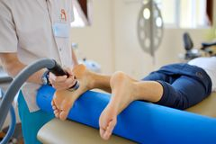 Ultradźwięk terapii traktowanie Obraz Royalty Free