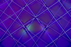 Ultrafioletowy Abstrakcjonistyczny Geometryczny wzór fotografia stock