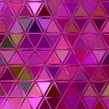 Ultrafioletowy poligonalny abstrakcjonistyczny tło Niski poli- kryształu wzór Projekt z trójboków kształtami ilustracji