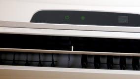 UltraHDvideo van het werk airconditioningsclose-up stock videobeelden