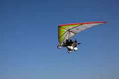 Ultralight. Image of outdoor sport flying ultralight Royalty Free Stock Photos