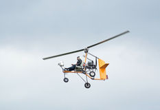 An ultralight autogyro Stock Photography