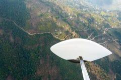 Ultralight flight Stock Photos
