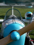 Ultralight Flugzeug Stockfoto
