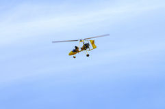 Ultralight Hubschrauber Stockbild