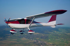 Ultralight ultralight samolot Zdjęcia Stock