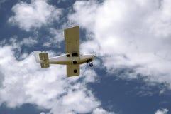 Ultralight vliegtuigPelikaan Stock Foto