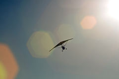 Ultralite-Vliegtuig Stock Foto's