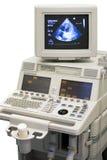 ultraljuds- apparatläkarundersökning arkivbilder