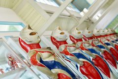 Ultramanmodel Royalty-vrije Stock Afbeeldingen
