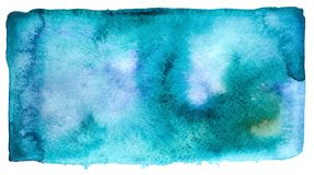 Ultramarine background. Abstract watercolor dark ultramarine background Stock Photos