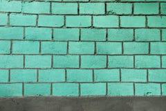 Ultramarine brick wall. Texture Background Royalty Free Stock Photo