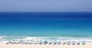 Ultramarine de Sunbed Photographie stock libre de droits