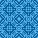 Ultramarine seamless pattern Royalty Free Stock Images