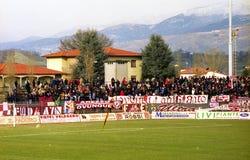 Ultras Αρέζο στοκ εικόνα