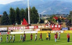 Ultras Κρεμόνα στοκ εικόνες