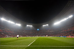 Ultras πλήθους σταδίων στοκ εικόνες
