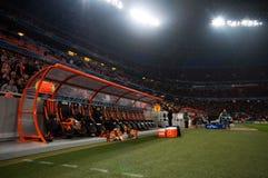 Ultras толпы стадиона Стоковые Изображения RF
