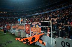 Ultras толпы стадиона Стоковое фото RF