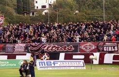 Ultras Arezzo Foto de archivo libre de regalías