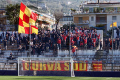Ultras benevento Royalty Free Stock Image