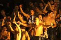 Ultras de Kyiv de dynamo de FC Photo libre de droits