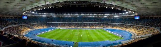 Ultras della folla dello stadio Immagine Stock