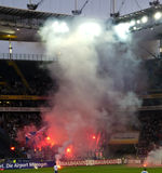 Ultras e hooligan Fotos de Stock