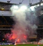 Ultras en Hooligans Stock Foto's