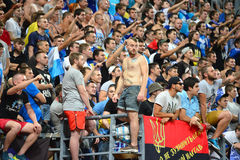 Ultras of FC Dnipro Royalty Free Stock Image