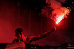 Free Ultras Firework Royalty Free Stock Images - 76478469