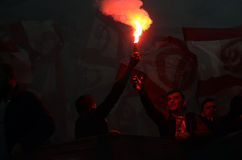 Ultras light flares Royalty Free Stock Image