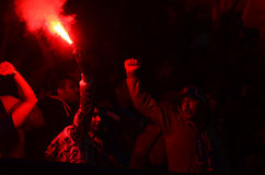 Ultras light flares Stock Images