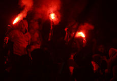 Ultras light flares Stock Photography